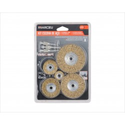 Lots de 5 brosses plates